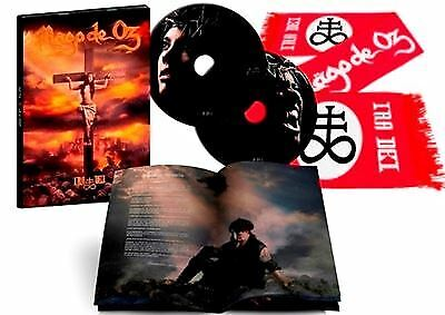 "2CD MAGO DE OZ ""IRA DEI -LTD 2CD + BUFANDA-"". New and sealed"