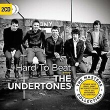 "2CD THE UNDERTONES ""HARD TO BEAT"". New and sealed"