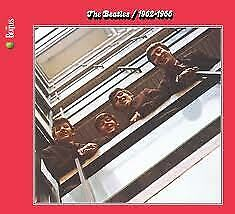 """2CD THE BEATLES """"RED ALBUM 1962 1966  -REMASTERED-"""". New and sealed"""