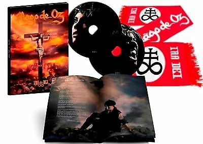 "2CD MAGO DE OZ ""IRA DEI -LTD 2CD + BUFANDA-"".New and sealed"