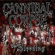 """CD CANNIBAL CORPSE """"THE BLEEDING  (REED.DIGI """".New and sealed"""
