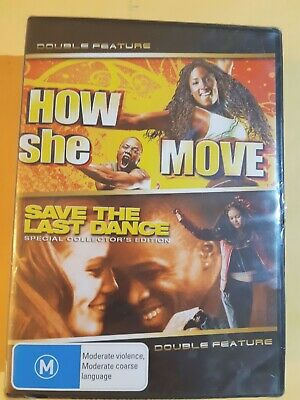 How She Move  / Save The Last Dance  [ 2 DVD Set ] BRAND NEW & SEALED, Free Post