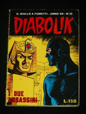 ***Diabolik Numero 10*** Vii - 7° - Anno (1968) I Due Assassini