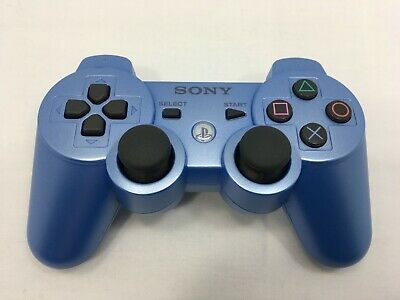 SONY PS3 Official Wireless Controller DualShock 3 SIXAXIS Candy Blue CECHZC2J
