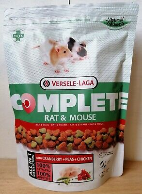 Versele Laga Rat & Mouse Complete Food 500g Rat and Mouse Feed Super Premium