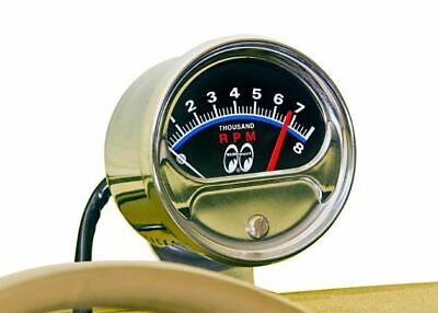 Mooneyes Half Sweep Tachometer Hot Rods Customs Rat Rods Vw Cars Trucks