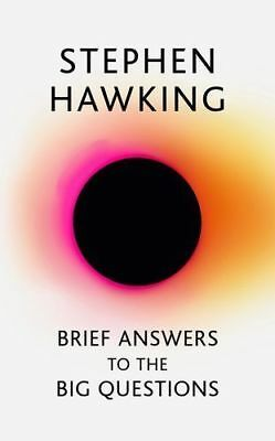 NEW Brief Answers to the Big Questions By Stephen Hawking Hardcover