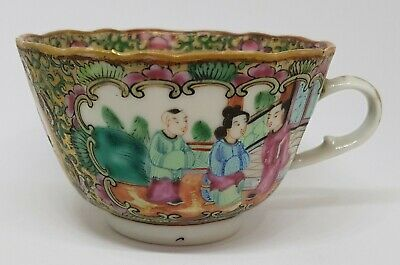 Beautiful Antique Chinese Porcelain Famille Rose Cup