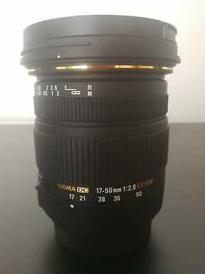 Sigma AF 17-50 mm f/2.8 EX DC HSM NUOVO / NEW (Sony A)