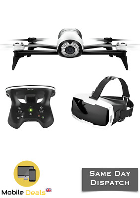 Brand New Sealed Parrot Bebop 2 Drone with Skycontroller 2 & Glasses FPV Pack