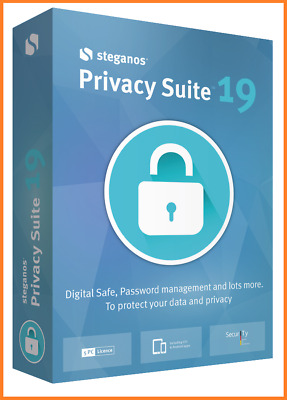 Steganos Privacy Suite 19 Safety Password Manager Lifetime Licence Fast Delivery