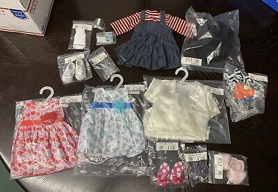 """Lot#3 NEW Doll Clothes Shoes fits 18"""" American Girl Play Dolls Lot 15 Pieces"""