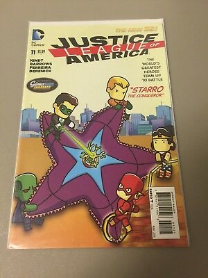 Justice League of America #11 - Scribblenauts Variant Cover