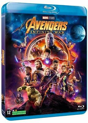 Avengers Infinity War Marvel Blu Ray  Neuf Sous Cellophane