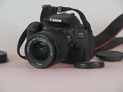 Canon EOS 700D SLR-Digitalkamera - Schwarz (Kit m/ EF-S 18-55mm IS STM)