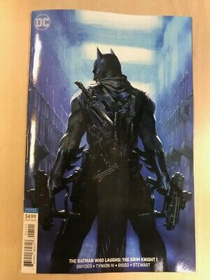 THE BATMAN WHO LAUGHS: THE GRIM KNIGHT # 1 - Dell'Otto Variant - Snyder - DC