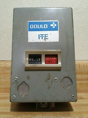 ITE Gould 3 Pole Manual Motor Starter