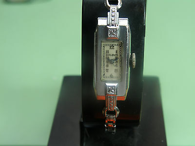 1930`s AWESOME BULOVA WOMEN`S ART DECO BAGUETTE watch
