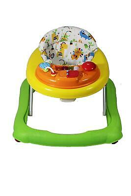 Baby Go Round Jive Walkers 6 Month Removable Play Tray Adjustable Frame Seat
