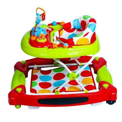 Baby Go Round Twist Walker Detachable Play Tray Stimulating Moving Toys Foot Pad