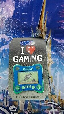 Disney Parks I Heart Gaming The Little Mermaid Pin Ariel  LE 2500 Pin in hand