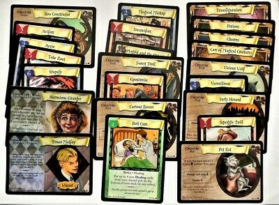 Bundle Lot of 20+ Harry Potter Trading Cards Trading Card Game 2001 - No Doubles