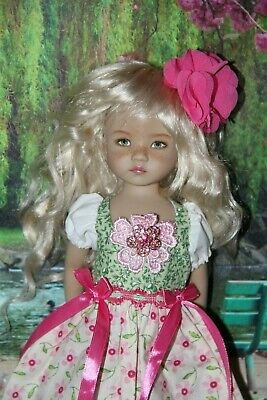 "Outfit FOR Dianna Effner 13"" Little Darling Dolls=Lovely Easter Dress"