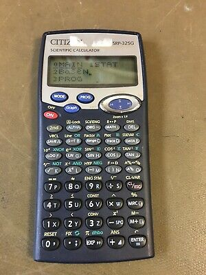 Calculatrice scientifique CITIZEN SRP-325G