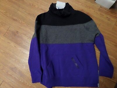 bnwt-Under Armour Girls pullover coldgear sweatshirt yxl-loose fit-threadborne