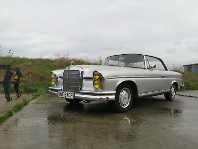 1968 Mercedes 280 SE Coupe - Becoming Very Rare & Desirable - Great Opportunity