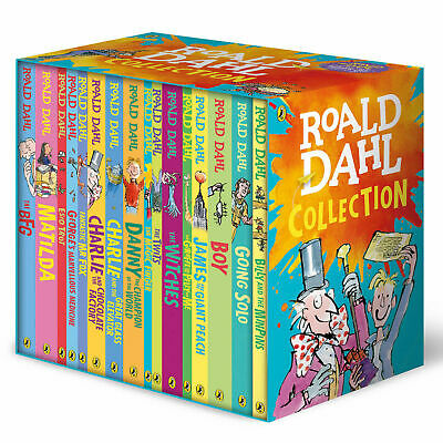 NEW Roald Dahl Classic Collection 16 Book Box Set