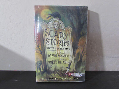 Scary Stories Box Set: Complete Collection Trilogy Brand New 1018