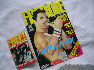 Freddie Mercury/Queen/Magazine-Starfile No.1.April 1992