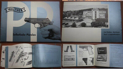 Carl Walther PP/PPK - manual - original from  factory , german language