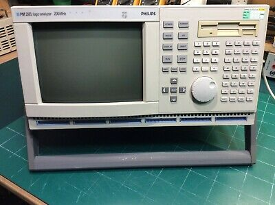 Analyseur Logique / Logic Analyzer Philips PM3585/90 - 96 channels 200MHz