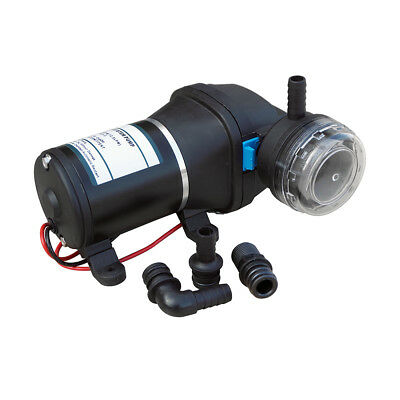24V High Pressure Diaphragm DC Water Pump Caravan Boat Pump 35Psi 12.5 L/Min