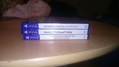 PS4 Assassins Creed Spielesammlung