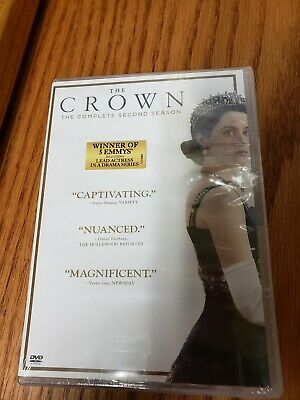 The Crown: Complete Second Season 2 (DVD, 2018, 4-Disc Set) NEW