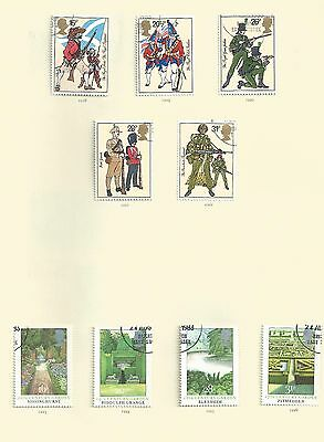 SALE BARGAIN             UK, collection of Elizabeth II Used commerative stamps,