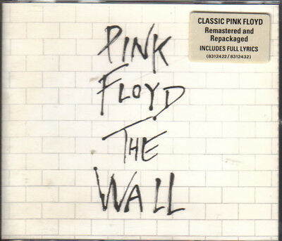 2-CD-Box-PINK FLOYD/ The Wall 1979 /Remaster Edt 1994