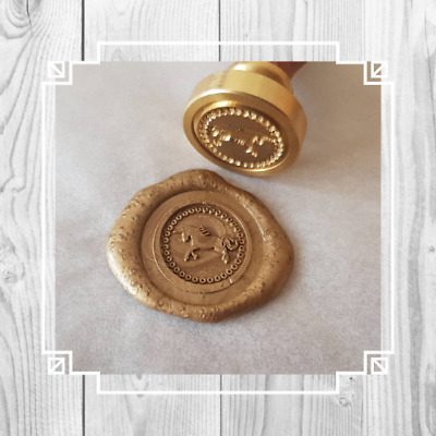 Custom Unicorn Wax Seal, Unicorn Stamp, Unicorn Wax Stamp, Unicorn Wedding
