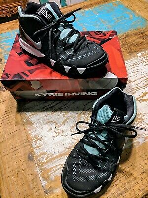 e8eaaf0bd6243 NIKE KYRIE IRVING 4 GS youth Basketball Shoes Tropical Twist/Silver/Black /White