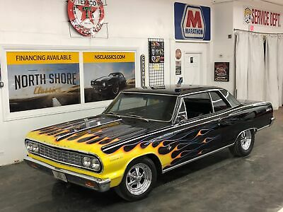 1964 Chevelle -Malibu SS- Numbers Matching -Black Beauty Black Chevrolet Chevelle with 82,000 Miles available now!