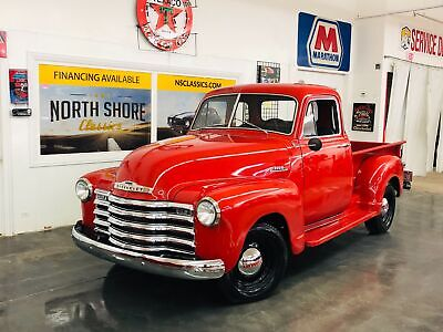 1953 Other Pickups -PICKUP-FRAME OFF RESTORED 5 WINDOW PICK UP - SEE Red Chevrolet 3100 with 500 Miles available now!