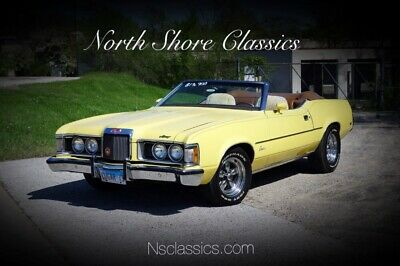 1973 Cougar -XR7- CONVERTIBLE-PRICE DROP- SUMMER CRUISER- SEE Yellow Mercury Cougar with 91,982 Miles available now!