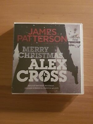 Merry Christmas Alex Cross By James Patterson (CD Audio,Unabridged) New & Sealed