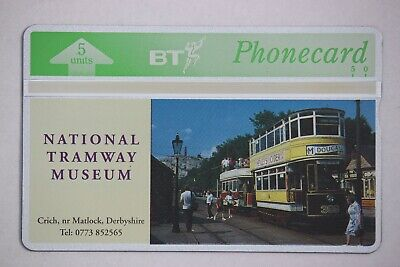 BT Phonecard L.E. Mint Condition in Folder BTG158 Tramway Museum 301 of 500