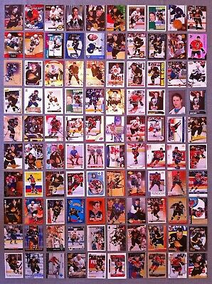 GREAT LOT of 10 PAVEL BURE HOCKEY CARDS  VANCOUVER CANUCKS