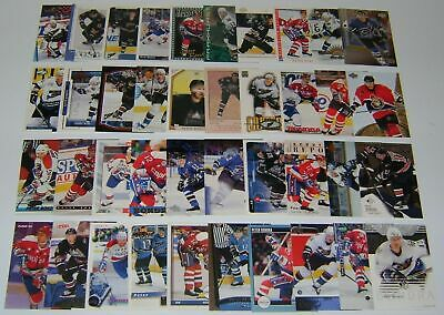 GREAT LOT of 10 PETER BONDRA HOCKEY CARDS  includes his ROOKIE CARD!!!