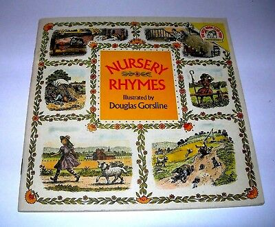 Vintage Nursery Rhymes Children S Book Ilrated By Douglas Gorsline
